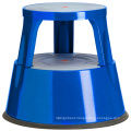 Rolling Steel Step Stool for Factory Metal Step Ladder Stools