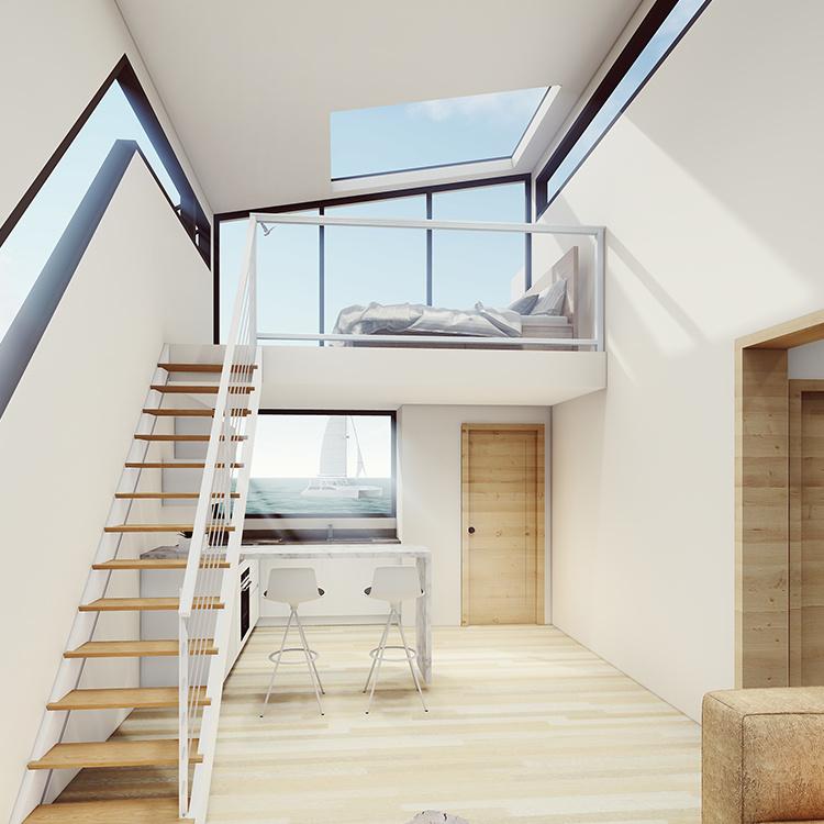 Earthquake Resistant Light Steel House