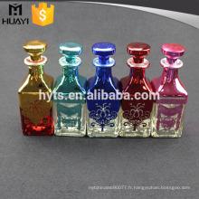 vente au détail et en gros Empty Glass reed diffuseur bouteille