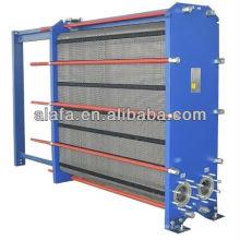 Junta intercambiador de calor agua de mar, marina intercambiador de calor, fabricación de intercambiadores de calor