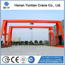 Widely Use Light Weight Double Beam Gantry Crane 20 Ton