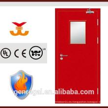 Bs476 aprobó puerta de fuego de acero del fabricante