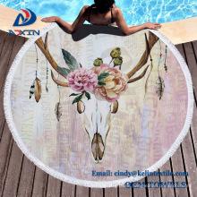 100% Indian Cotton Luxury Reactive Printed Velour Round Beach Towels 100% Indian Cotton Luxury Reactive Printed Velour Round Beach Towels