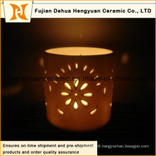 Hot Selling Hollow out Ceramic Christmas Candle Holder (the LED lamp shade)