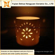 Hot vendendo oca para fora do candelabro de cerâmica do Natal (a máscara da lâmpada do diodo emissor de luz)