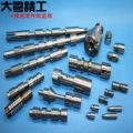 Precision hydraulic valve parts spool and valve sleeve