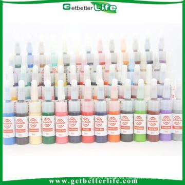 getbetterlife 2015 gratis envío a nosotros 54 Color Mini 5ml de tinta del tatuaje conjunto/tatuaje tinta/mejor tatuaje de tinta