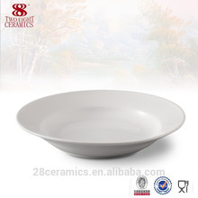 Fine royal ceramic ware, wholesale restaurant dinner plates for weddings