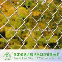 Verzinkte PVC-beschichtete Wohnketten Link Zaun