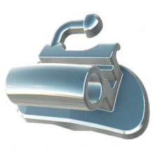 Metallspritzguss Bondable Buccal Tubes