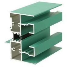 Profil en aluminium d'oxydation anodique pour mur-rideau