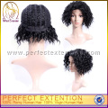 Guangzhou The Best Glue Less Indian Hair Beautiful Front Lace Wig