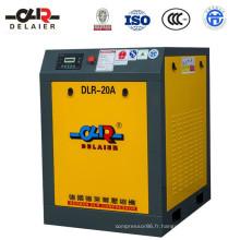 Compresseur à vis de compresseur d'air à vis écoénergétique Dlr
