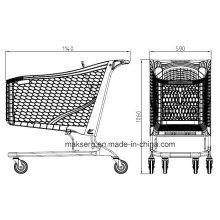 Carrinho de compras de plástico ecológico