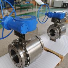 Válvula de bola montada en muñón API 6D