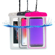 Customized Brand hot sale New Clear Waterproof PVC Mobile Phone bag