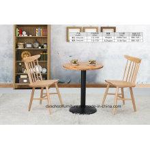 Voller fester hölzerner Tisch und Pfau-Stuhl für Esszimmer
