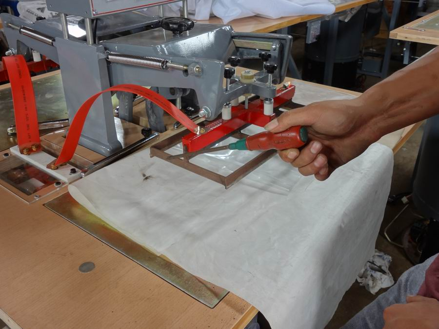 plastic welding system