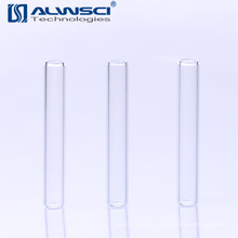 Inserções de amostras de vidro transparente 250U de laboratório para frascos de 1,5 ml