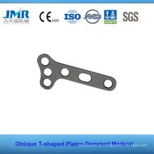 Truam Medical Cirúrgico Ortopédico T Shapped Plate