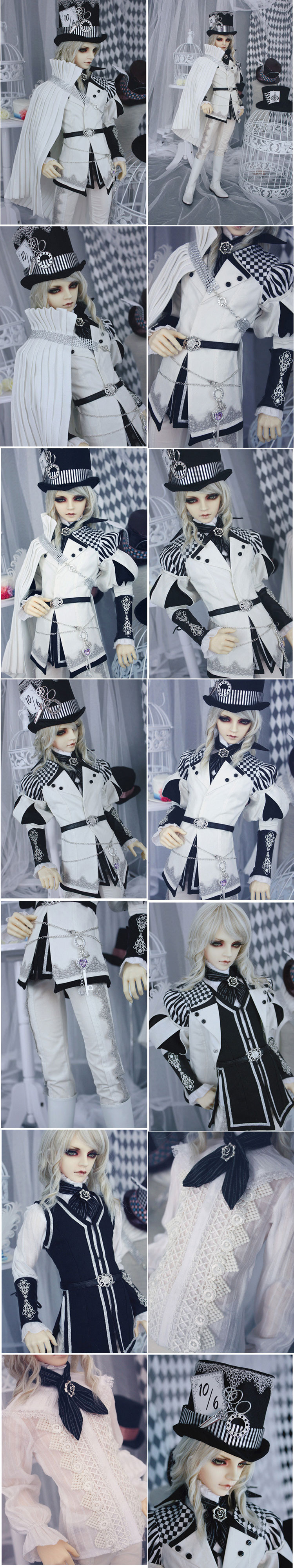 Costume Set The Mad Hatter Edition