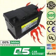 SS75 12V80ah Australla Model Auto Storage Maintenance Free Car Battery