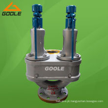 Válvula de segurança de alívio de pressão do tipo mola dupla (GAA37 / GAA38 / GAA43)
