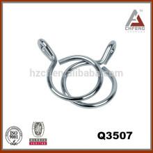 Q3507 accesorios de barra de cortina, anillos de metal, anillos chapados, anillos pintados