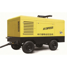 Compresseur d'air portatif diesel 25HP ~ 150HP