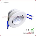 Recessed 3W LED Ceiling Cabinet Light LC7223y