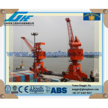 16T26M fixed harbour portal crane