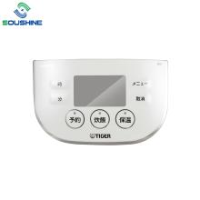 Panneau de commande de cuiseur à riz en plastique d'injection IMD/IML