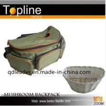 Fishing Bag with Mushroom Bag