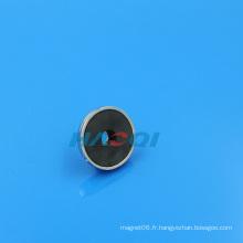 Aimant de coupe en céramique à base ronde magnétique Ferrite