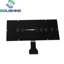 Commutateur à membrane de clavier à bouton tactile capacitif FPC/PCB