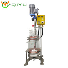 Small Laboratory Scale Polypeptide synthesis Chemical filter Glass Reactor 5L