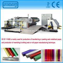 Shantou peeling Maschine Aufschlitzen zurückspulen Maschine (Fabrik)