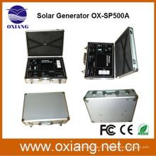 Facoty gros DC 500 w solaire portable système de sauvegarde d'éclairage