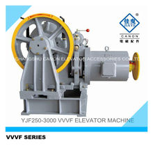 5 ton VVVF engranado máquina ascensor