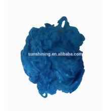 Viskose Stapelfaser dope gefärbt Farbe