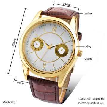 2016 novo estilo relógio de quartzo, moda liga relógio hl-bg-076