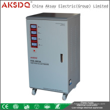 Hot Sales Single Phase AC Servo Motor Automatic Protection High Power Voltage Stabilizer 20Kva For TV