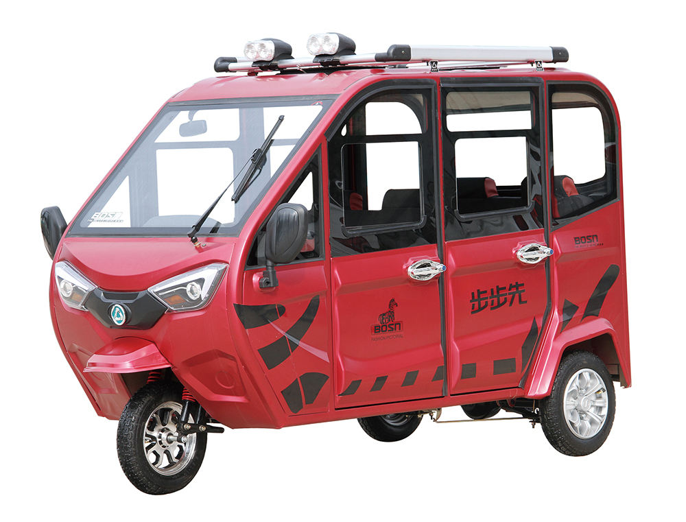 India Electric Rickshaw