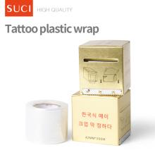 Прозрачная полиэтиленовая пленка татуировки пластиковые обертывание
