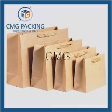 Brown Kraft Blank Packing Paper Bag (DM-GPBB-072)