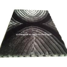 Полиэстер Современные мохнатые ковры с 3D эффектами