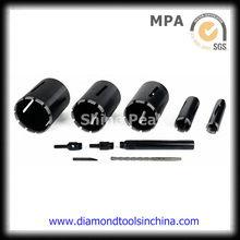 Brocas de diamante hormigón base de mármol para el concreto