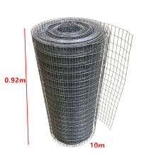 ISO Manufacturer 0.92x10m Square PVC Coated Wire Mesh Roll Galvanized Netting Garden Screen Fence or Aviary