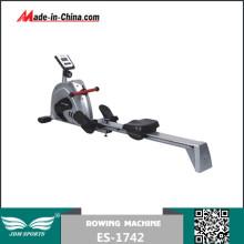 Alta qualidade, conceito, 2, remo, máquina, exercitar