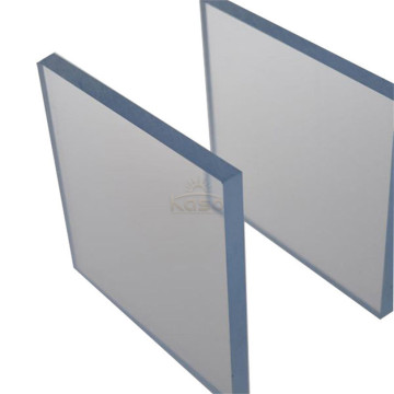 Feuille 6Mm Uv Couche Polycarbonate Solide Incassable